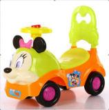 Paseo barato del bebé de la venta 2016 del bebé del coche caliente del oscilación en el coche del juguete del bebé de la música de la buena calidad del coche