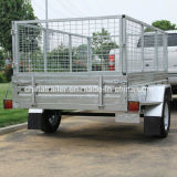 6X4 7X4 7X5 8X5 Hot Dipped Galvanised Box Trailer