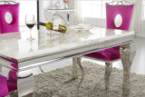 Bestes Quality Cheap Glass Dining Table Furniture Set auf Furniture