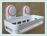 Чашка всасывания полки стены ливня устроителя шкафа хранения ванной комнаты угловойая