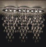Luz de teto moderna decorativa de cristal de Phine grande