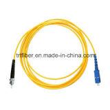 Di cavo di zona duplex monomodale della fibra di SC/PC-SC/PC 9/125