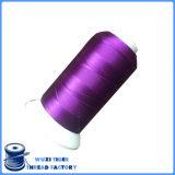 Alto filetto del ricamo del poliestere di tenacia 152D/2 per tessuto