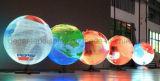 Visualización de LED esférica al aire libre de la visualización de SMD P6