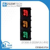 Ringsum u-Drehung drehen und linke Farben-rote gelbes Grün-Ampel LED 300mm drehen des Verkehrszeichen-Licht-3