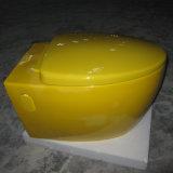 Toilette accrochante Mur-Accrochée en céramique de couleur de cuvette de toilette (A-502)