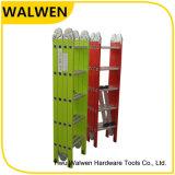 De plastic-bespoten Multifunctionele Vouwende Ladder van het Aluminium