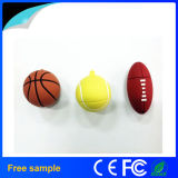 2016 Promocional Gift Football Shape PVC USB Flash Drive