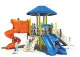 Campo da giuoco esterno di plastica dei bambini semplici di Kaiqi per l'asilo, iarda di banco, supermercato, sosta residenziale con la caratteristica della natura
