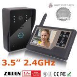 """Téléphone visuel sans fil de porte avec """" TFT LCD de la couleur 3.5"""
