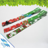 Wristband descartável tecido colorido de Texitle