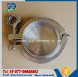 Braçadeira de tubulação resistente higiênica do aço inoxidável