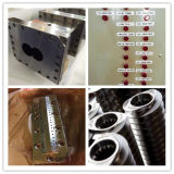 Estirador de tornillo doble durable para las clases de línea plástica de la granulación
