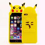 Caja del teléfono del silicón de Pikachu para la aguja Huweip9lite Zte A315 J1 J5 J7 J710 (XSDW-075) del LG G4