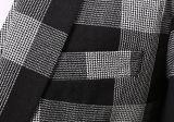 2016 Form-neue schwarze u. weiße Check drei PCS-Mann-Klagen
