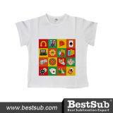 Bestsub昇進のPolyester&Cottonの子供のTシャツ(JA603W)