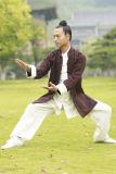 """Cappotti di tela caldi spessi del doppio Relaxed accogliente di prima scelta di svago di """"chi"""" del Tai di Taoism"""