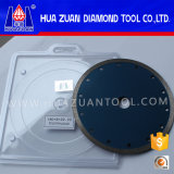 "Stone Ceramic Tile, 7 "" Granite Saw Blade를 위한 최신 Press Sintered Diamond Continuous Rim Cutter"