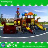 Детей игр парка атракционов оборудование спортивной площадки пластичных напольное (KP13-124)