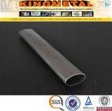 Tube en acier ovale d'acier inoxydable d'ASTM A554 TP304 pour des meubles