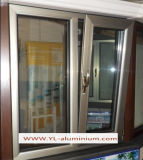 AußenOpening Aluminum Window mit Single Glass