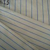 Tela teñida hilado tejida del popelín de algodón para las camisas/alineada Rls40-2po de la ropa