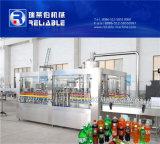 Totalmente automático de bebidas carbonatadas de llenado de la botella de la máquina / planta