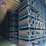 Pallet accatastabile della gomma dell'acciaio Q235 di vendita della fabbrica