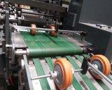 Fünf Farben-selbstklebendes Kennsatz-Papier-Rollenstempelschneidene aufschlitzende Maschine