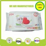 Trapos cómodos del bebé 80PCS de Eco hechos en China