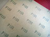 Абразивная бумага FM03 100# Massa бумаги корабля C-Wt алюминиевой окиси красная