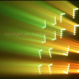 [25بكس] [10و] مادّة ترابط حزمة موجية رأس متحرّك لأنّ ديسكو ضوء ([إيكن-م065])