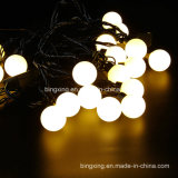 6 m. Christmas Waterproof 4cm Round Balls con Connetor Plug LED String Light