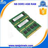 Niedriges Density PC3-10600 1333MHz 8bits 4GB DDR3 RAM Laptop