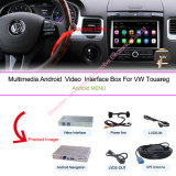 """Multimédios da navegação do carro para VW sistema de Volkswagen Touareg 6.5 """" e registrador Android da câmara de vídeo do carro"""