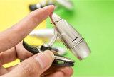 Gewehrkugel Desin flexible Minivorhängerbuch-Leuchten des clip-LED, Worklight Leselampe-Taschenlampe, Form-Tasten-Batterie-Taschenlampe
