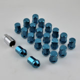 Anodized Blue Surface를 가진 20+1PCS Hex Wheel Nut