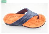 SZ 12 del Slip-on de tirón del fracaso de la correa de los hombres rojos grises de las sandalias