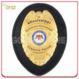 Kundenspezifisches Stern-Form-Gold überzogenes Militärabzeichen mit Sicherungsstift