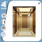 Gravura a água-forte Mirror Stainless Steel Speed 1.5m/S Passenger Elevator