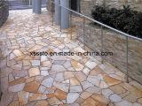 Pizarra de piedra natural de la losa para pavimentar