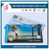 磁石の縞が付いている高品質のバーコードVIP PVCカード