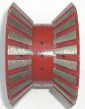 Поделенные на сегменты абразивные диски CNC для гранита - двойник облегчил край