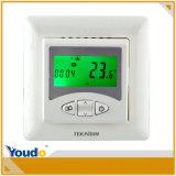 termóstatos programados semanales del sitio de la calefacción de Digitaces del control 2-Position
