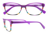 2016 lunettes colorées d'acétate de vente chaude pour des femmes