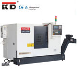 Máquina pequena Kdcl-10 do CNC do torno da cama da inclinação do tamanho