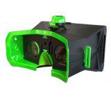 Verres de la réalité virtuelle 3D Vr de manche de Bluetooth + de carton de Google
