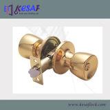 Cerraduras de cobre amarillo tubulares de la bola de la puerta de la perilla de la entrada de interior (6111PB)