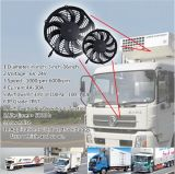 12/24V de Auto Brushless Motor van de Ventilator van de Ventilator van de Evaporator