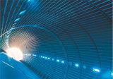 Membrana de impermeabilización del HDPE usada en túnel